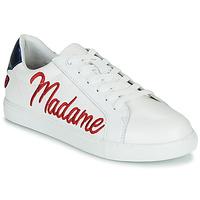 Shoes Women Low top trainers Bons baisers de Paname SIMONE MADAME MONSIEUR White