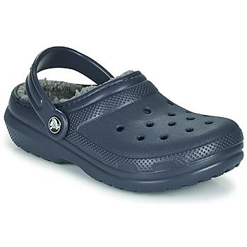 Shoes Children Clogs Crocs CLASSIC LINED CLOG K Blue