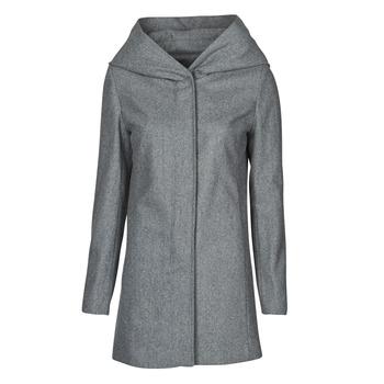 material Women coats Moony Mood NANTE Grey / Dark