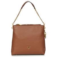 Bags Women Shoulder bags Guess DESTINY HOBO Cognac