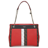 Bags Women Shoulder bags Guess KATEY GIRLFRIEND CARRYALL Red / Multicolour
