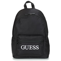 Bags Men Rucksacks Guess QUARTO BACKPACK Black