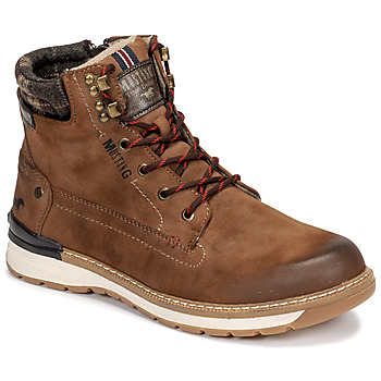 Shoes Men Mid boots Mustang 4141503 Brown