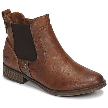 Shoes Women Mid boots Mustang 1265501 Brown