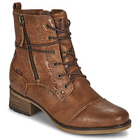 Shoes Women Mid boots Mustang 1229508 Cognac