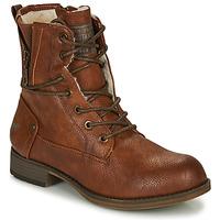 Shoes Women Mid boots Mustang 1139630 Cognac