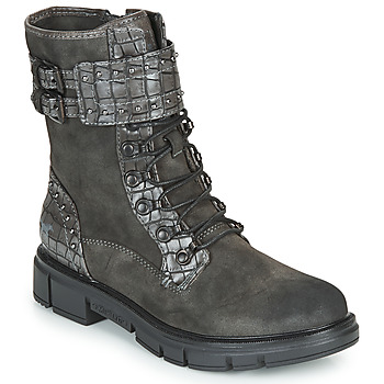 Shoes Women Mid boots Mustang 1333507 Grey