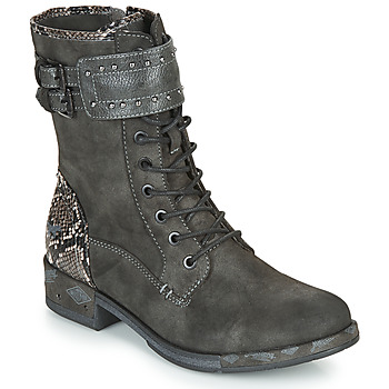 Shoes Women Mid boots Mustang 1332506 Grey