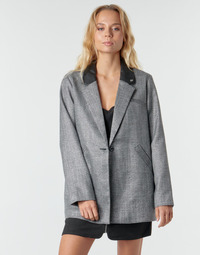 material Women coats Kaporal LEILY Black