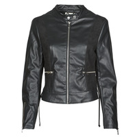 material Women Leather jackets / Imitation le Kaporal LIVY Black