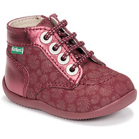 Shoes Girl Mid boots Kickers BONZIP-2 Bordeaux