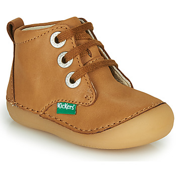 Shoes Children Mid boots Kickers SONIZA Camel