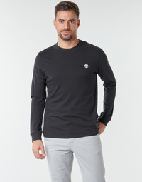 material Men Long sleeved shirts Timberland LS Dunstan River Tee Black