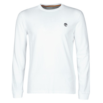 material Men Long sleeved shirts Timberland LS Dunstan River Tee White