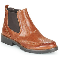 Shoes Women Mid boots IgI&CO DONNA BRIGIT Cognac