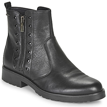 Shoes Women Mid boots IgI&CO DONNA BRIGIT Black