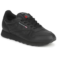 Shoes Low top trainers Reebok Classic CLASSIC LEATHER Black