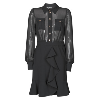 material Women Short Dresses Marciano CAROL SHORT DRESS Black