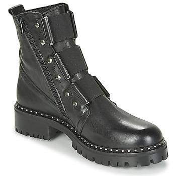 Shoes Women Mid boots Philippe Morvan HARMY V1 ROMA NOIR Black