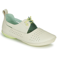 Shoes Women Ballerinas Camper RIGHT NINA LACE Beige