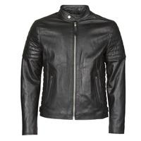 material Men Leather jackets / Imitation le Schott LCJOE Black