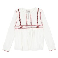 material Girl Blouses Chipie 8R12014-19 White