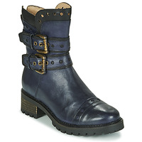 Shoes Women Ankle boots Casta MERITA Blue / Black