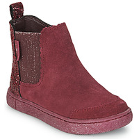 Shoes Girl Mid boots Mod'8 BLANOU Bordeaux