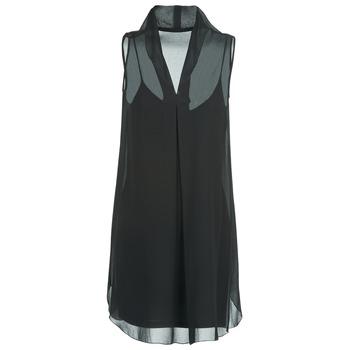 material Women Short Dresses Naf Naf E-LALY Black