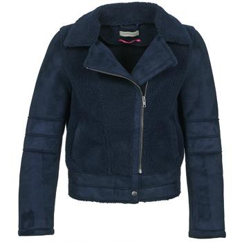 material Women Leather jackets / Imitation le Naf Naf BYLLO Marine