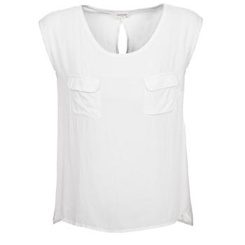 material Women Tops / Sleeveless T-shirts Naf Naf KLOPA Ecru