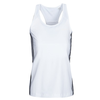 material Women Tops / Sleeveless T-shirts adidas Performance W D2M 3S TANK White