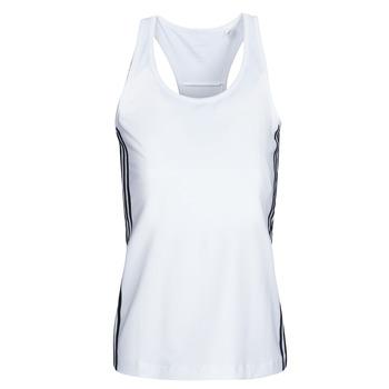 material Women Tops / Sleeveless T-shirts adidas Performance W D2M 3S TANK White
