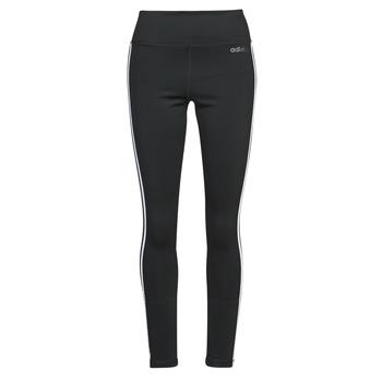 material Women leggings adidas Performance W D2M 3S HR LT Black