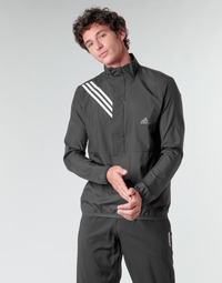 material Men sweaters adidas Performance OWN THE RUN JKT Black