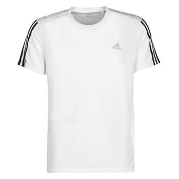 material Men short-sleeved t-shirts adidas Performance RUN IT TEE 3S M White