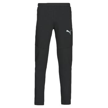 material Men Tracksuit bottoms Puma EVOSTRIPE PANTS Black