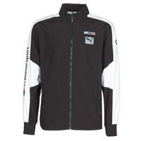 material Men Jackets Puma BMW MMS WVN JACKET F Black / Grey / White