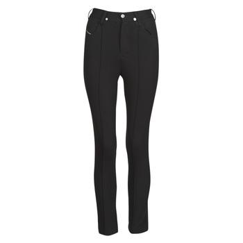 material Women 5-pocket trousers Diesel P-CUPERY Black
