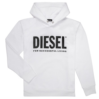 material Boy sweaters Diesel SDIVISION LOGO White