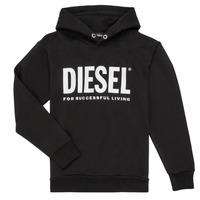 material Boy sweaters Diesel SDIVISION LOGO Black