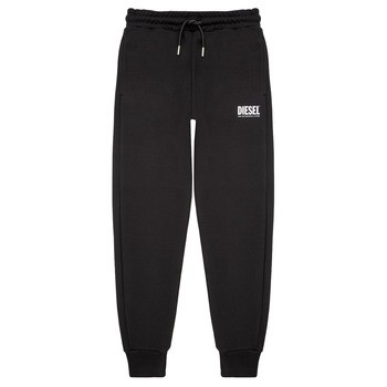 material Boy Tracksuit bottoms Diesel PTARYLOGO TROUSERS Black