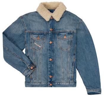 material Boy Denim jackets Diesel JRESKY Blue