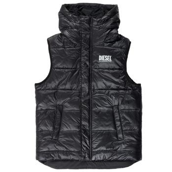 material Boy Duffel coats Diesel JSUNNY Black