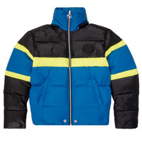 material Boy Duffel coats Diesel JMARTOS Black / Blue / Yellow