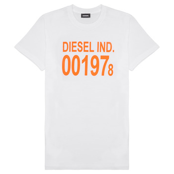 material Children short-sleeved t-shirts Diesel TDIEGO1978 White
