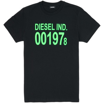 material Children short-sleeved t-shirts Diesel TDIEGO1978 Black