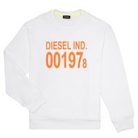material Children sweaters Diesel SGIRKJ3 White