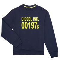 material Children sweaters Diesel SGIRKJ3 Blue