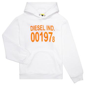 material Children sweaters Diesel SGIRKHOOD White